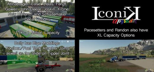 Photo of FS19 – Iconik Tipper Pack V3