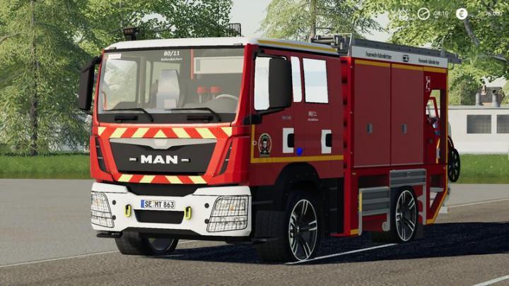 FS19 - Iveco Daily (Kaltenkirchen Fire Department) V2