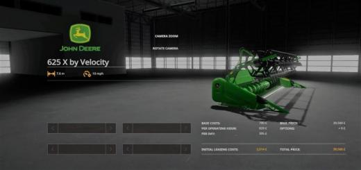 Photo of FS19 – John Deere 625 X V1