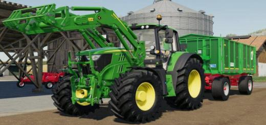 Photo of FS19 – John Deere 6M V2