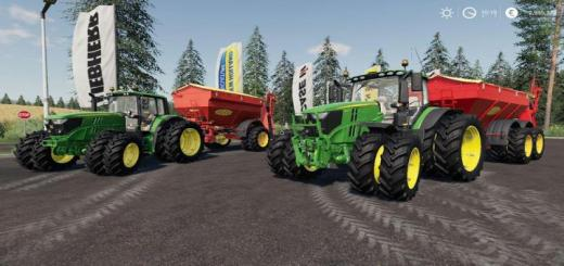 Photo of FS19 – John Deere 6R – 6M + Bredal K105 – K165 V1