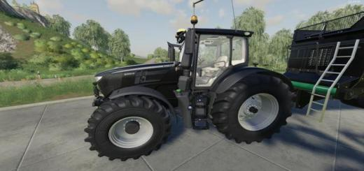 Photo of FS19 – John Deere 6R Black Edition V1.0.0.9