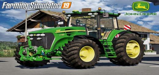 Photo of FS19 – John Deere 7030 Series V1
