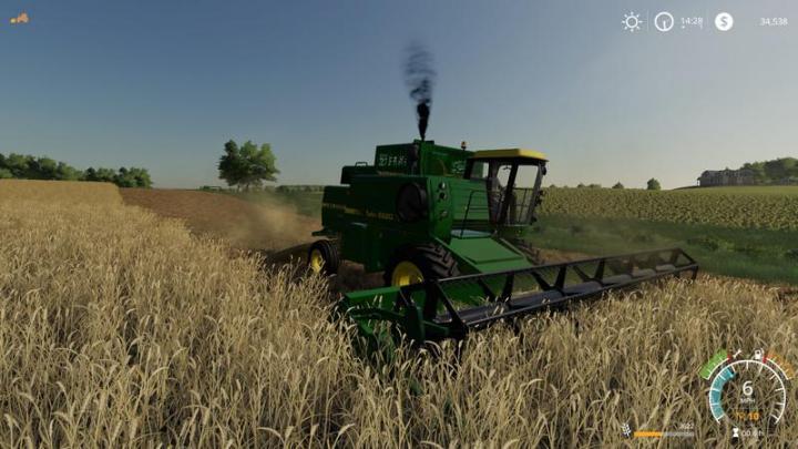 FS19 - John Deere 8820 Turbo Harvester V1