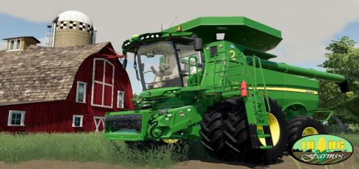 Photo of FS19 – John Deere S700 Series Usa Harvester  V2
