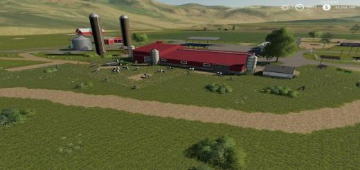 Photo of FS19 – Jones Dairy Farm Map V1.2