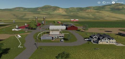 Photo of FS19 – Jones Dairy Farm Map V1