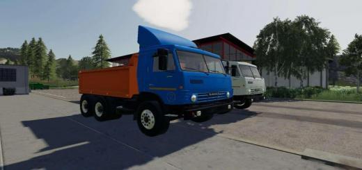 Photo of FS19 – Kamaz 53212 Plus Semi Trailer V1