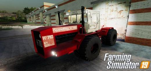 Photo of FS19 – Kirovets K710 Converted V1