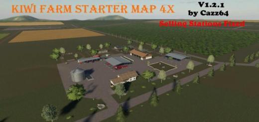 Photo of FS19 – Kiwi Farm Starter Map 4X V1.2.1