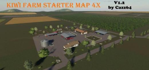 Photo of FS19 – Kiwi Farm Starter Map 4X V1.2