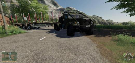 Photo of FS19 – Kraz 255B Laptezhnik V1.2