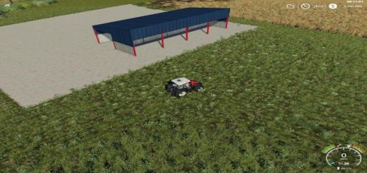 Photo of FS19 – Lean To Shed V1