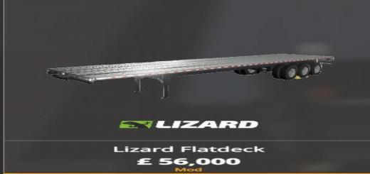Photo of FS19 – Lizard Flatdeck Autoload / Unload V0.0.1.2