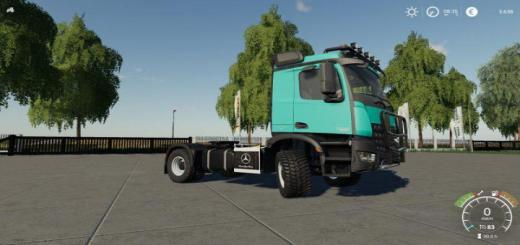 Photo of FS19 – Mercedes Arocs Agrar V1