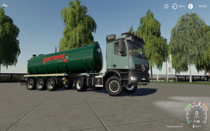FS19 - Mercedes Arocs Agrar V2