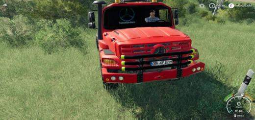 Photo of FS19 – Mercedes Zetros Red V1 Beta