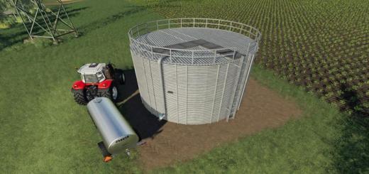 Photo of FS19 – Metal Water Tank V1