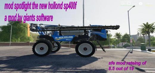 Photo of FS19 – New Holland Miller Sprayer V1