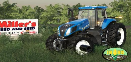 Photo of FS19 – New Holland T.8 Row Crop V1