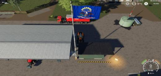 Photo of FS19 – North Dakota Flag V1
