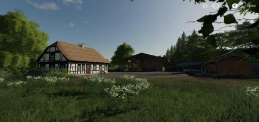 Photo of FS19 – Oberlausitz Map V1