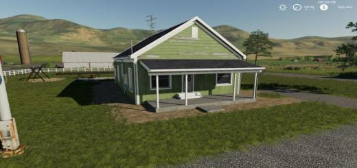 Photo of FS19 – Placeable 2 Bedroom House With Sleep Trigger V1