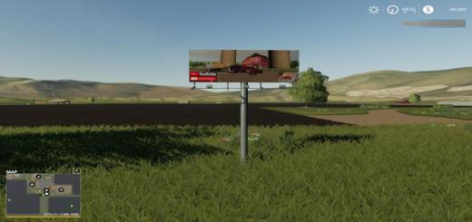 Photo of FS19 – Placeable Billboard V1
