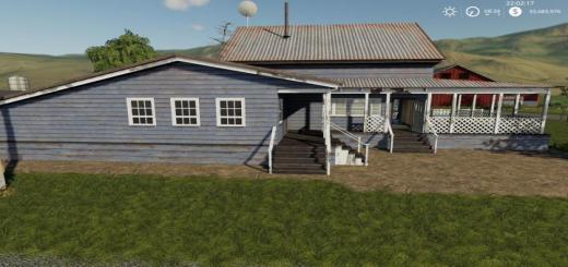 Photo of FS19 – Placeable Farmhouse V1