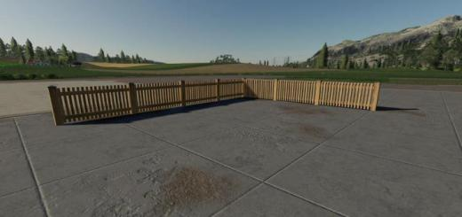 Photo of FS19 – Placeable Fence Pack V1