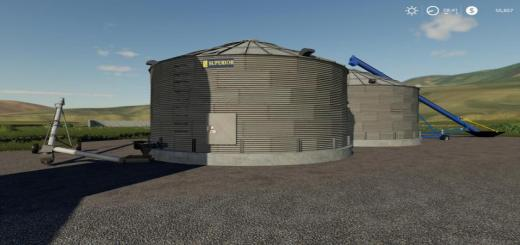 Photo of FS19 – Placeable Grain Silo System V1.1