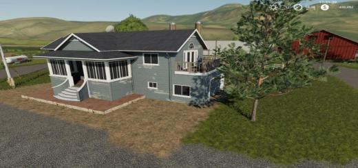 Photo of FS19 – Placeable House With Sleep Trigger V1