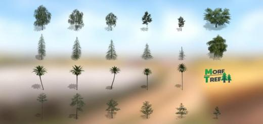 Photo of FS19 – Placeable More Tree V1