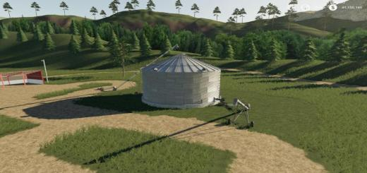 Photo of FS19 – Placeable Single Grain Silo V1