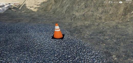 Photo of FS19 – Placeable Traffic Cones V1