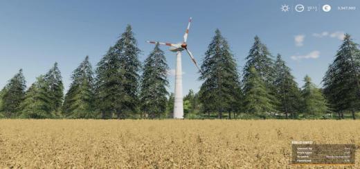 Photo of FS19 – Placeable Wind Turbine