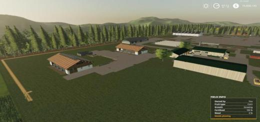 Photo of FS19 – Pleasant Valley Dairy (Savegame) V1