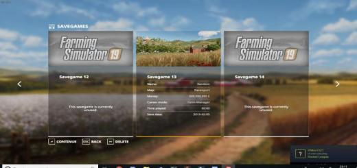 Photo of FS19 – Save Game (13) With Unlimited Money V1