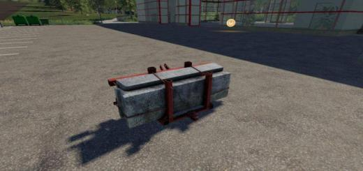Photo of FS19 – Self-Made Counterweight V1