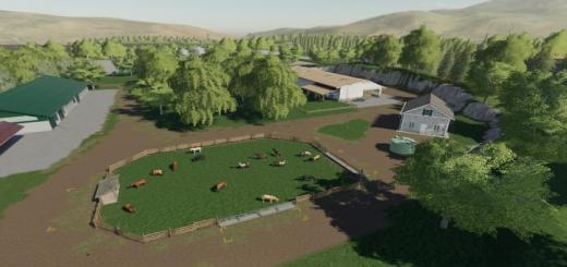 Photo of FS19 – Sherwood Animal Farm (Terraformed Savegame) V1