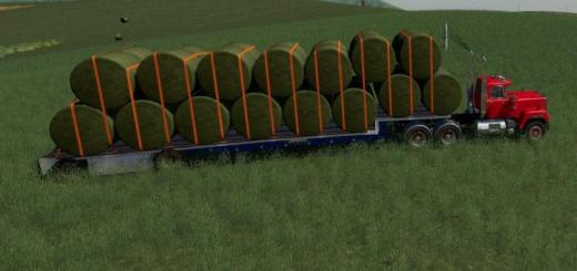 Photo of FS19 – Step Deck Trailer V1