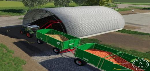 Photo of FS19 – Storage Carrots Onions V1.0.0.2