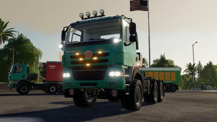 FS19 - Tatra Phoenix 6X6 Truck V1