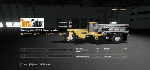 Photo of FS19 – Terragator 6203 V1