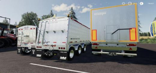 Photo of FS19 – Trailers Pack