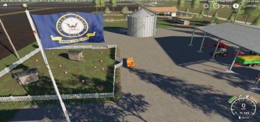 Photo of FS19 – Usa Navy Flag V1