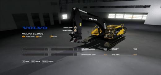 Photo of FS19 – Volvo Excavator Pack V1