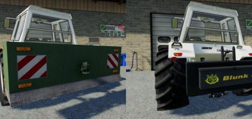 Photo of FS19 – Weights Pack V1