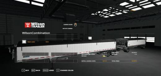 Photo of FS19 – Wilson Trailer And Pup Combination V1