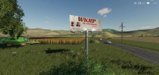 Photo of FS19 – Wkrp Billboard V1